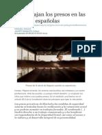 3. Así trabajan los presos en las cárceles españolas
