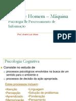 Interface Homem-Máquina - Psicologia de Processamento de Informação