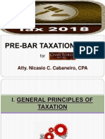 Taxation Law Cabaneiro