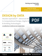Design by Data Brochure 2018 2019