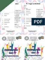 Field Demo Program 2019