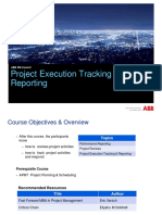 Project Execution Tracking Reporting