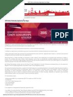 2015 Türkiye Scholarships Applications Have Begun