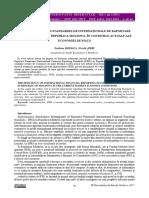 Eficiența Aplicării Standardelor Internaționale de Raportare Financiară (Ifrs) În Republica Moldova