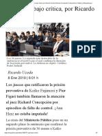 Apelación Bajo Crítica, Por Ricardo Uceda _ Richard Concepción Carhuancho