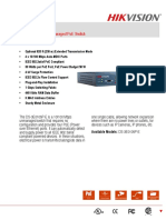 Hikvision switch Datasheet