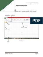 Error Excel Course 2010