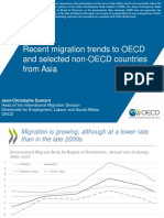 Recent Migration Trends to OECD and Selected Non-OECD Countries from Asia