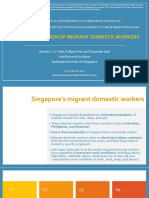 Social Protection of Migrant Domestic Workers
