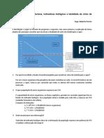 Cinética de Morte Bacteriana Indicadores Biológicos e Letalidade de Ciclos de Esterilização a Vapor.