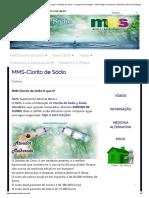 MMS – Portugal -Clorito de Sodio – Dioxido de Cloro – Compra Em Portugal – Informação e Venda de Clorito de Sodio Em Portugal