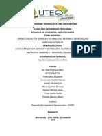 CARACTERIZACION QUIMICA Y ESTABILIDAD AEROBICA DE CASCARAS DE MARACUYA (AMARILLA Y MORADA) (Passiflora edulis)
