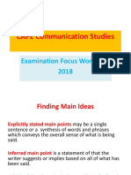 2018 Excelsior Communication Studies  Workshop  (1).ppt