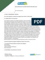 Soluzione Spagnolo, simulazione Linguistico 28 febbraio