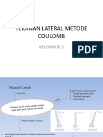 PPT Tanah Lateral Couloumb KELOMPOK 2