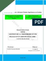 Memoire  Gestion de la tresorerie d'une filiale bancaire.pdf