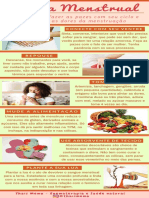 Infográfico Cólica Menstrual