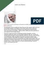 È mia Madre - Libro Papa Francesco