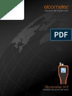 Elcometer 319 - Medidor de Punto de Rocío+Humedad+Temperatura