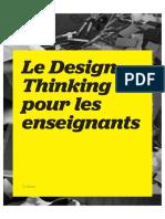 Le Design Thinking Pour Les Enseignants FR