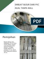 Buat Panahan Dari PVC Tanpa Mall