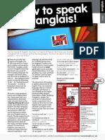 How to speak Franglais!
