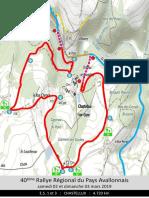 Rallye du Pays Avallonnais - Spéciales 1 et 3