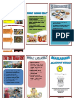 Leaflet Jajanan Sehat anak