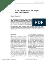 Turnbull S,1997 Corporate gov
