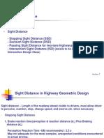 class7- Sight Distance.ppt