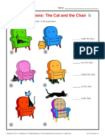Prepositions_ the Cat and the Chair _ Prepositional Phrase Worksheets