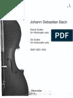 bach  cello