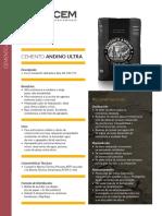 Ficha Andino ULTRA