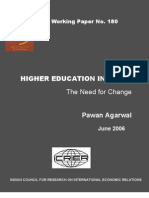 ICRIER WP180 Higher Education in India