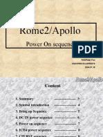 Rome2  Apollo Power on Sequence