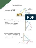 Guía Nº 6.1 de Física - Ej. de Estática