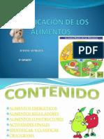 clasificacindelosalimentos-140525193810-phpapp01