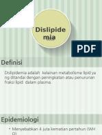 Dislipidemia EMS - Tasya