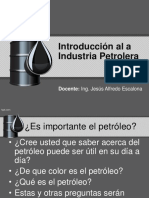 Introduccion a La Industria Petrolera