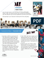 Jazz Day by Roxane Orgill & Francis Vallejo Teacher Tip Card