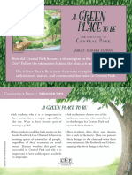 A Green Place to Be by Ashley Benham Yazdani Teacher Tip Card