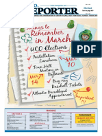 UCO Reporter 2019, March 2019 Edition, Revised, February 28, 2019