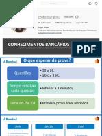 Slides Pre Prova Banrisul Conhecimentos Bancarios Edgar Abreu