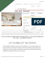 Ley 20.898 (Ley Del Mono)