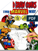 How to Draw Comics - The Marvel Way - By Stan Lee & John Buscema