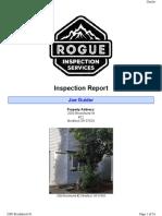 Inspection Report 2000 Brookhurst 22, Medford, OR 97504