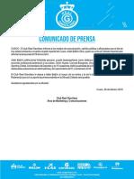 Club Real Garcilaso - Comunicado de Prensa 28.02.2019 - Real Garcilaso sumó a sus filas al centrocampista Adán Balbín