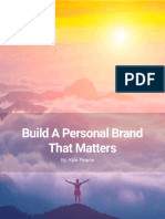 Build a Personal Brand That Matters