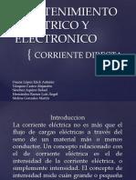 8b Eq 1. Mantenimiento Electrico y Electronico