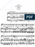 Six Songs, Op 75 mignon - Beethoven.pdf